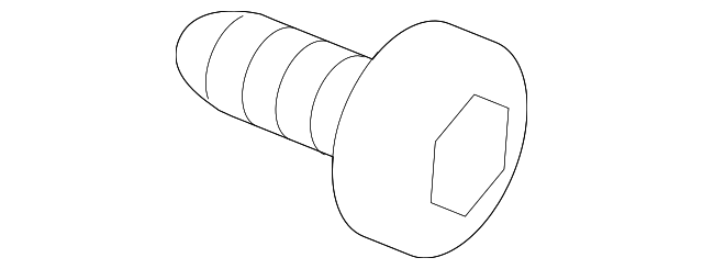 Screw, Tapping (5X10) - Honda (93901-15180)