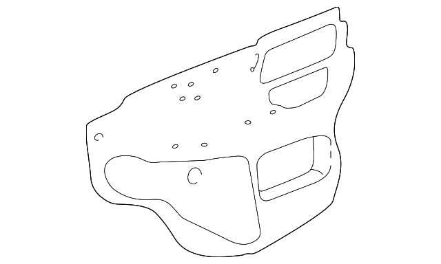 Water Shield - Toyota (67831-02130)