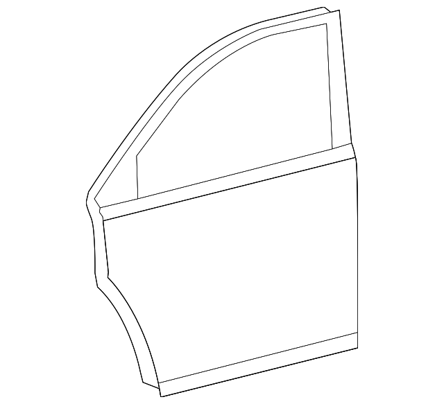 Door Shell - Toyota (67002-0E090)