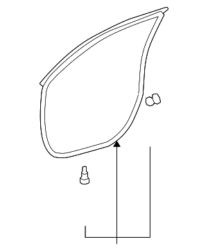 Door Weather-Strip - Toyota (67861-48060)