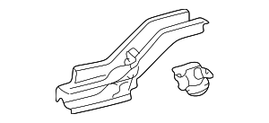 Side Rail Assembly - Toyota (57602-52923)