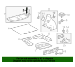 Package Tray Hanger - Toyota (64306-12120)