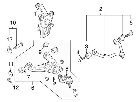 04 Kia Sorento Suspension Diagram