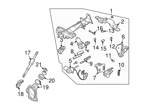 steering cadillac diagram column telescopic html