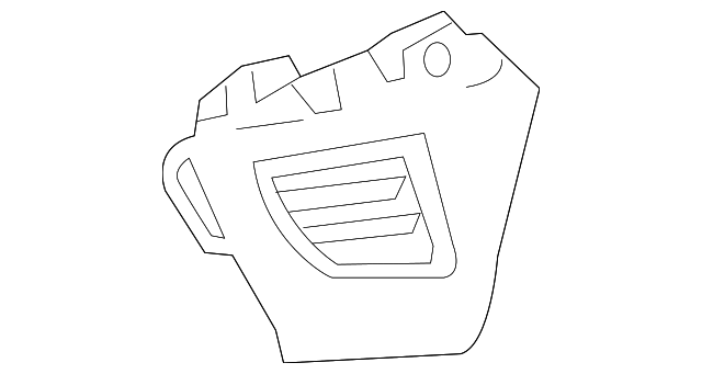 Air Vent - Toyota (55650-02260-B2)
