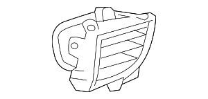 Air Vent - Toyota (55660-02190-C0)