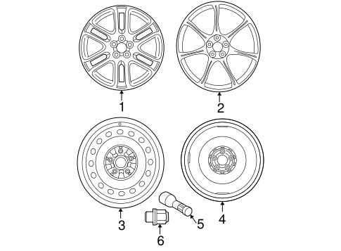FRONT SUSPENSION/WHEELS for 2005 Scion tC #1