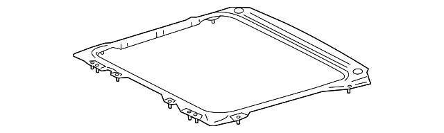 Sunroof Reinforced - Toyota (63106-08020)