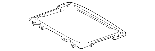 Sunroof Reinforced - Toyota (63104-08020)