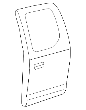 Door Shell - Toyota (67004-0C031)