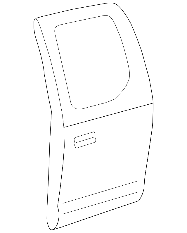 Door Shell - Toyota (67004-0C040)