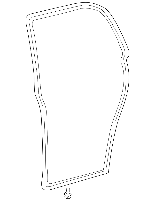 Door Weather-Strip - Toyota (67872-02040)