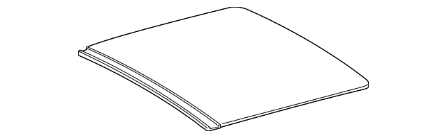 Sunroof Glass - Toyota (63201-0E060)