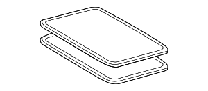 Sunroof Glass - Toyota (63201-0E030)