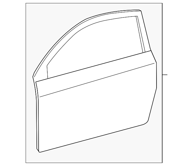 Door Shell - Toyota (67002-74031)