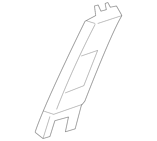 OEM Honda 84161-T2A-A01ZC - Upper Center Pillar Trim