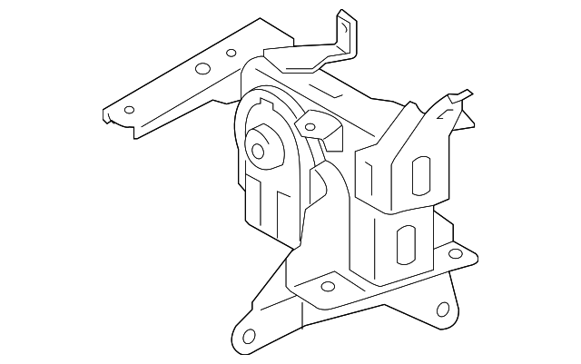 Side Mount - Toyota (12372-21390)