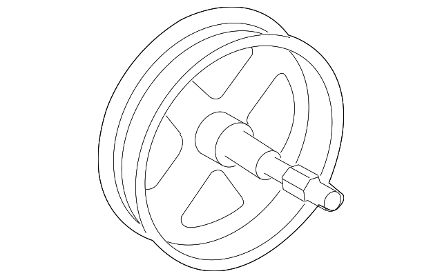 Pulley - Toyota (44303-33020)