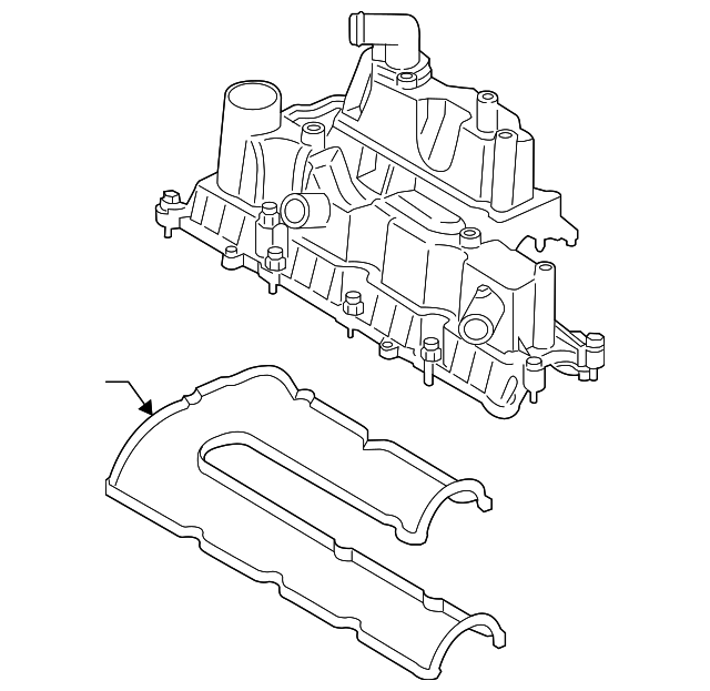 valve cover for 2014 ford escape