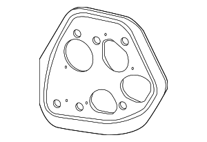 OEM Honda 33502-TR0-A01 - Tail Lamp Assembly Gasket