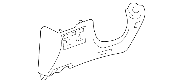 Knee Bolster - Toyota (55302-60031-A1)