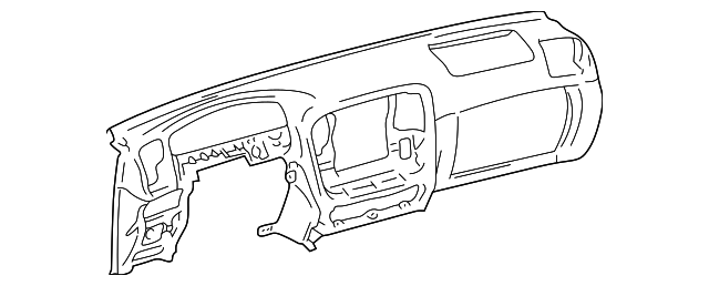 Instrument Panel - Toyota (55401-60201-E0)