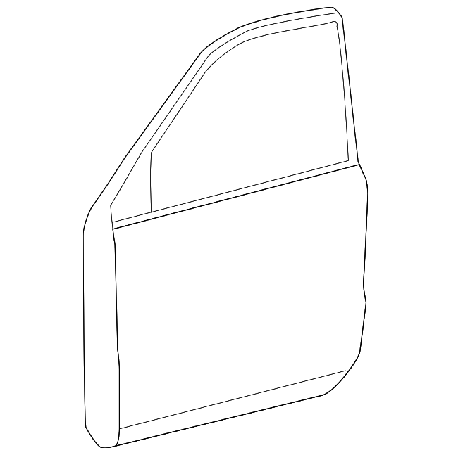 Door Shell - Toyota (67002-60671)