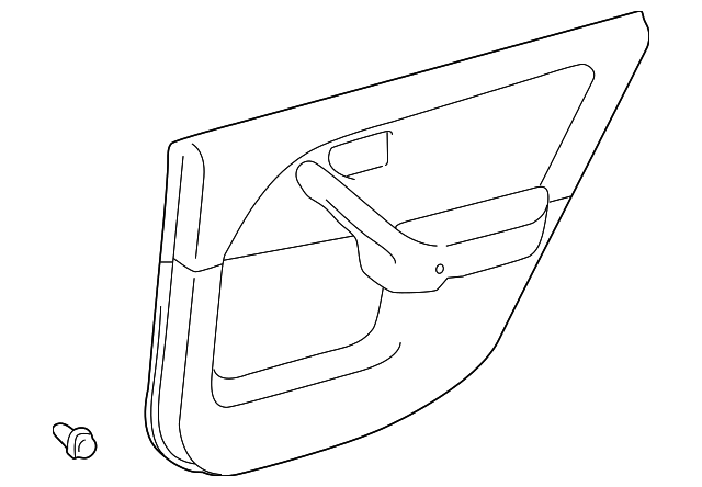 Door Trim Panel - Toyota (67640-AA080-B0)
