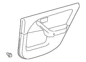 Door Trim Panel - Toyota (67630-AA010-B0)