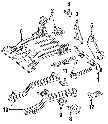 rear body for 1993 jeep cherokee