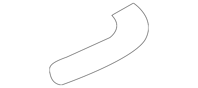 Seal Rubber C, Duct - Honda (17215-PZX-000)
