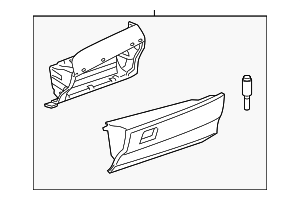 Glove Box Assembly - Toyota (55303-06171-B0)