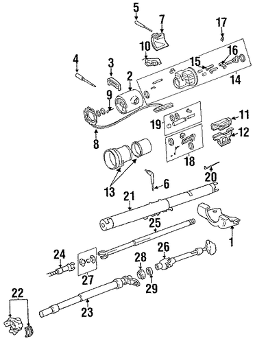 ignition lock for 1988 jeep j20