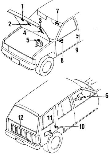22304 12g01 vacuum diagram for 1988 nissan pathfinder nissan parts genuine nissan parts