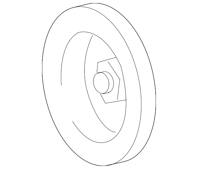 Pulley - Toyota (27411-38140)