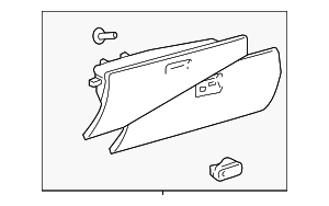 Glove Box Assembly - Toyota (55550-35060-E0)