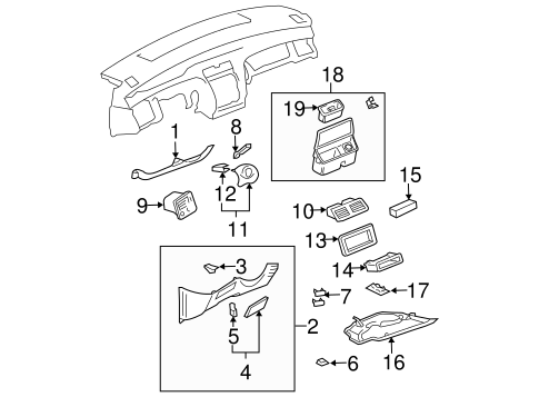 Retaining Bracket - Toyota (55475-07010)