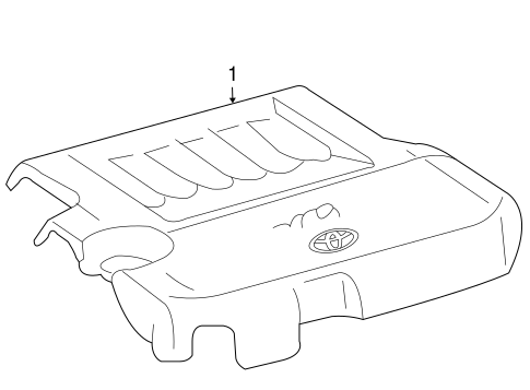 Engine Cover - Toyota (11209-31110)