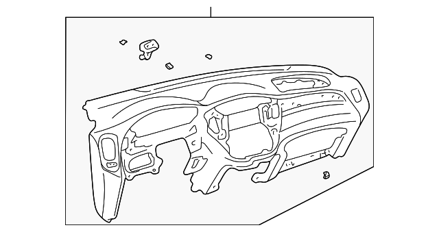 Instrument Panel - Toyota (55301-48020-B1)