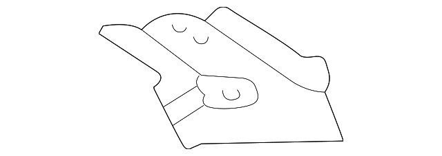 Quarter Panel Upper Extension - Toyota (61625-AC012)