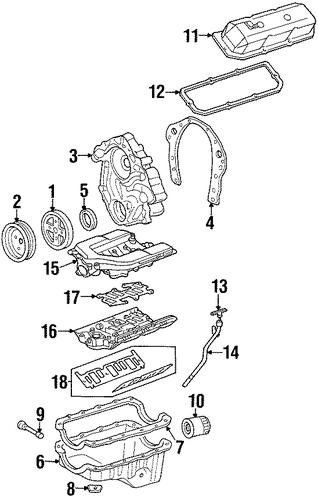 engine parts for 1995 pontiac firebird