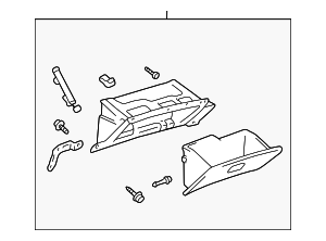 Glove Box Assembly - Toyota (55303-AA010-E0)