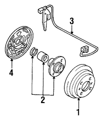 rear brakes for 1993 nissan sentra