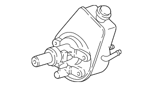 Power Steering Pump - GM (88963609)