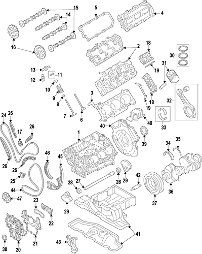 Pulleys on 2004 Audi S8
