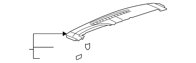 Defroster Nozzle - GM (25774060)