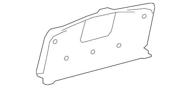Partition Panel - Toyota (64717-07020-C0)