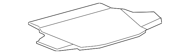 Spare Cover - Toyota (64711-07010-C0)