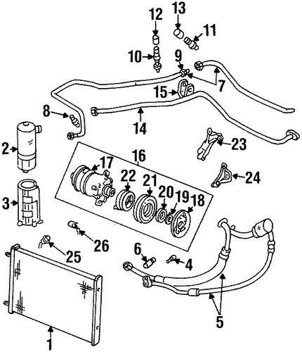 oldsmobile aurora connector 1995