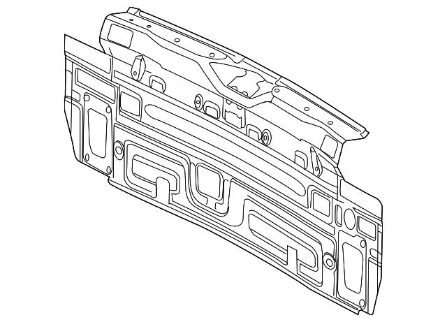 rear body panel